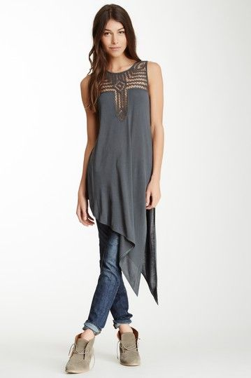 love THIS!! Saturn Moon Asymmetrical Tunic by Free People on @HauteLook