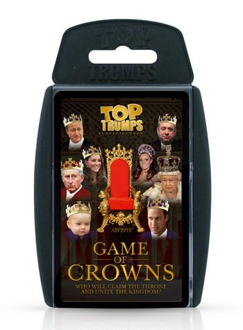 Top Trumps - Game of Crowns Preview