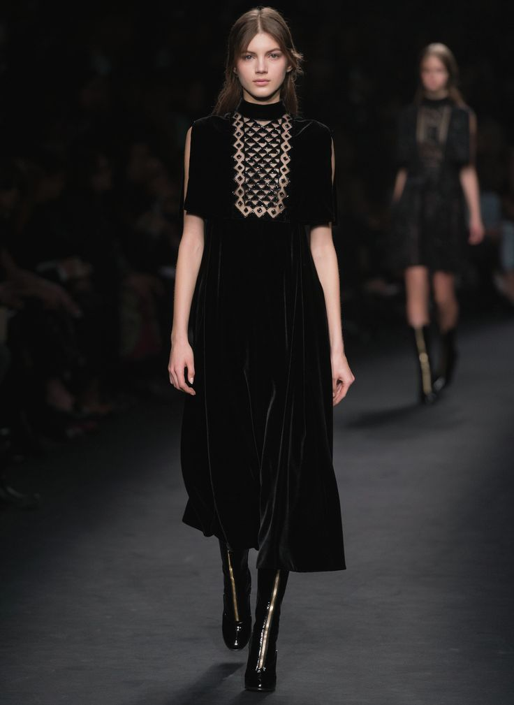 Velvet Dress Fall/winter Valentino YzzuW7H