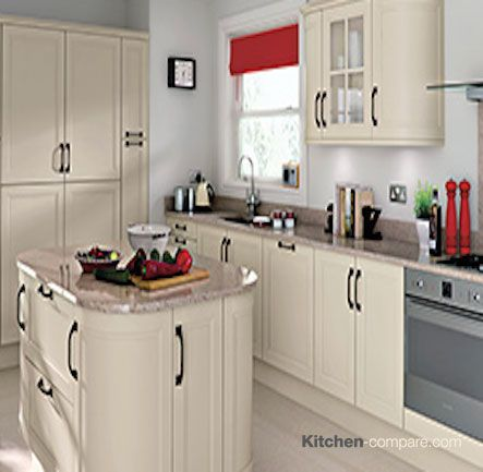 9 best images about cream painted shaker kitchens on for Home base kitchen units