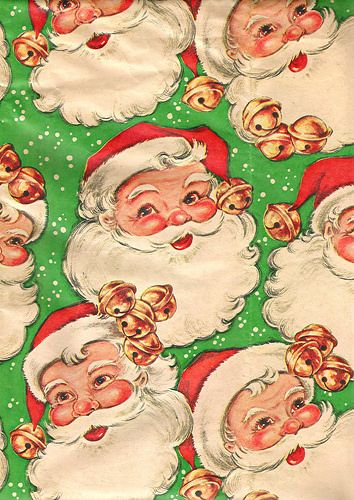 Vintage Christmas Wrapping Paper 1950s | Flickr - Photo Sharing!