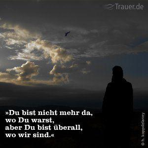 Trauer U0026 Trost. Abschied NehmenSprüche ...