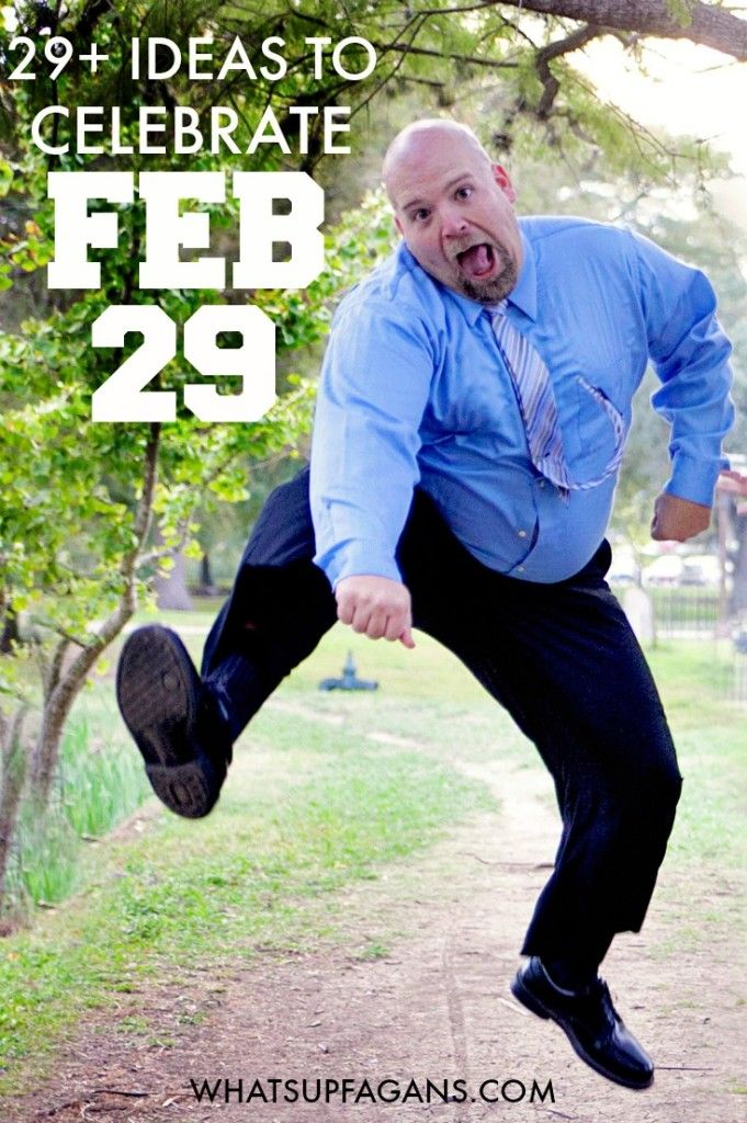 Such a great list of LEAP Themed activities and ideas for the family, couples, and individuals to celebrate Leap Year Day - February 29. A day that only happens once every four years should be fun and awesome!