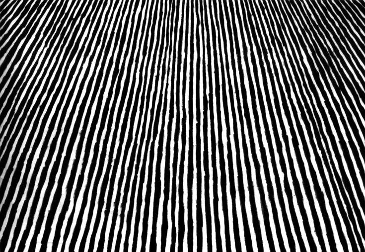 """Leon Tarasewicz, """"Bez tytułu"""" 1985 gwasz na papierze 210x300 cm Scaler Collection, fot. Tadeusz Rolke"""