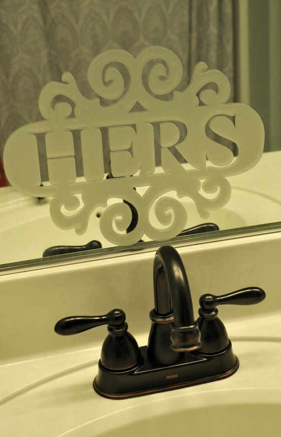 etched mirror decals