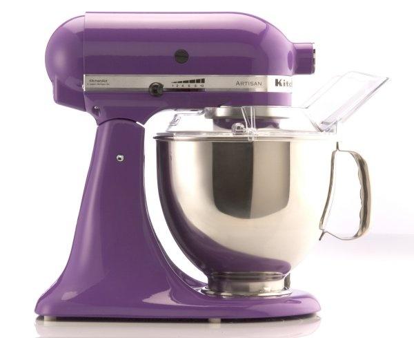 Kitchen Aid purple mixer