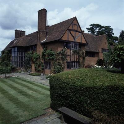 Deanery Garden, Sonning, Berkshire, England, House by Sir Edwin Lutyens.