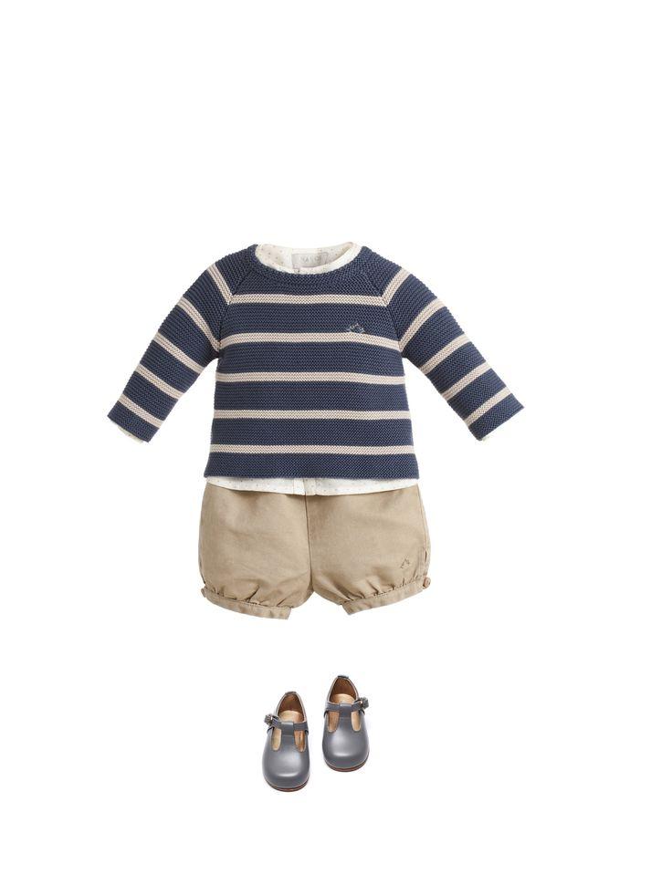 NANOS nautical raglan sweater