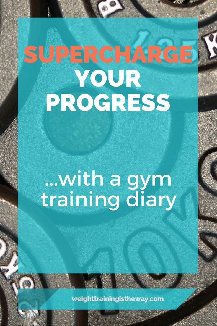 Supercharge Your Progress With A Gym Training Diary. A must for your weight training program is a gym training journal. This tiny item can have a big impact on your motivation, focus, enthusiasm and dedication to your workouts. I never lift weights without mine...this article explains why. #TooFit2Sweat