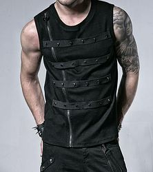 Fleet Commander Black Vest - so very sexy and comes in black and chocolate brown. yum!