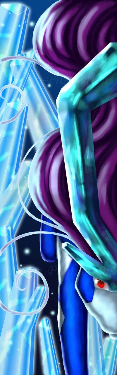 Crystal Boundaries- Suicune by Hikara-Productions.deviantart.com on @deviantART