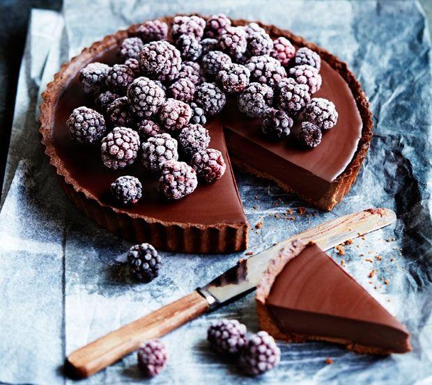 Den ultimative chokoladetærte