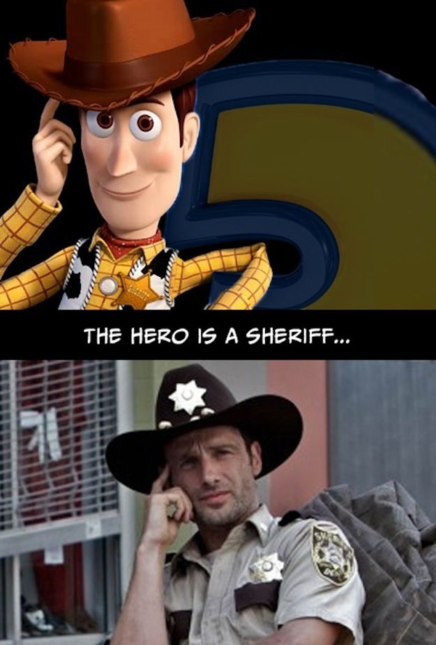 Toy Story and The Walking dead share the same story?