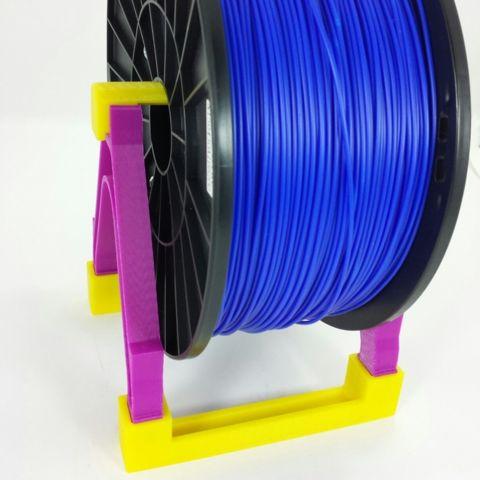 Download on https://cults3d.com #3Dprinting 3D Filament Spool Stand, PRINTinZ