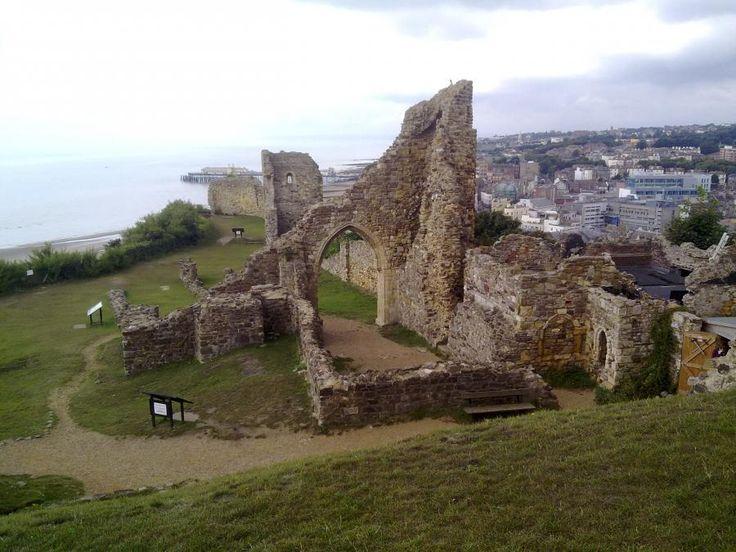 Hastings Castle | Hastings | United Kingdom | The Normans | Historvius
