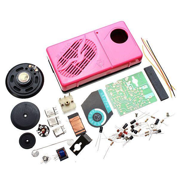 9018-2AM AM Radio Electronic Kit Electronic DIY Learning Kit