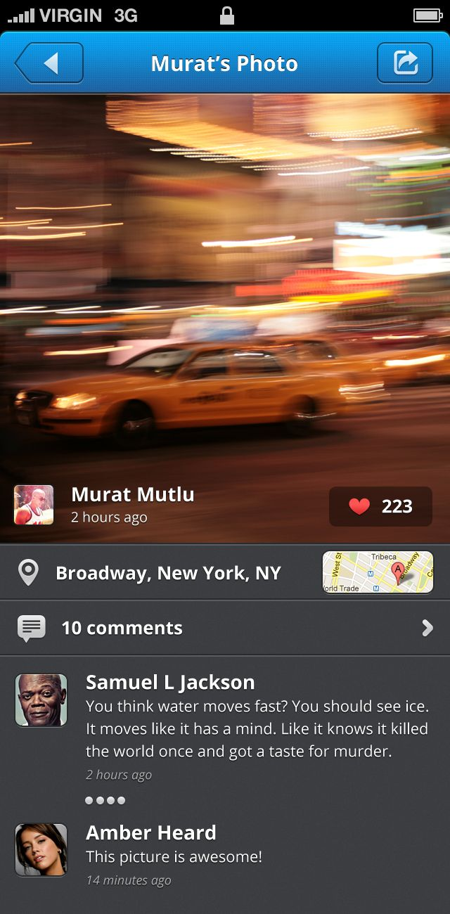 User Photo - iPhone  by Murat Mutlu
