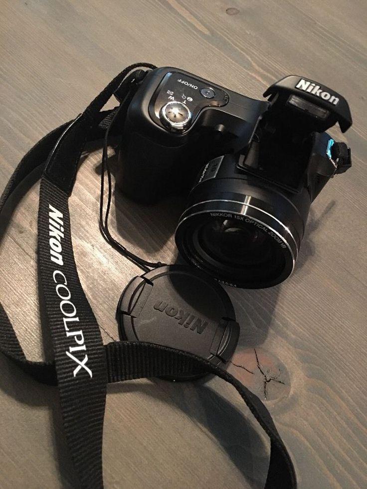 Nikon Coolpix L100 10 MP Digital Camera w/ 15x Optical Vibration Reductio