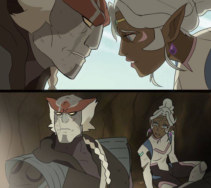 """How am I supposed to remain calm?!"" More potential s3 plots…the episode where Allura truly accepts Kolivan. Because I need that."