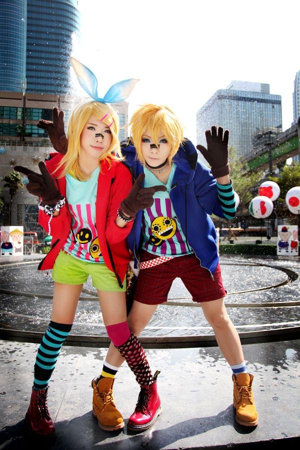 Vocaloid Cosplay - Matryoshka  Kagamine Rin : Jasper  Kagamine Len : YUEGENE FAY