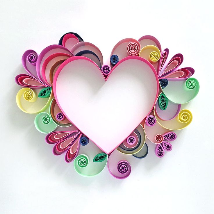 Открытки сердечки из бумаги своими руками