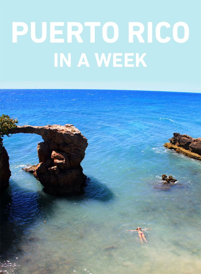 Puerto Rico Travel guide. How to do it in one week, and do it right! http://blog.swell.com/Puerto-Rico-in-a-Week