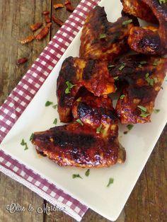 Ali di pollo in salsa barbecue  Ali di pollo, american wings, come cucinare le ali di pollo, cottura bbq, cucina americana, Cucina barbecue, grigliate estive, idea secondo piatto, ricette estive, ricette per cucinare ali di pollo, ricette secondi piatti,