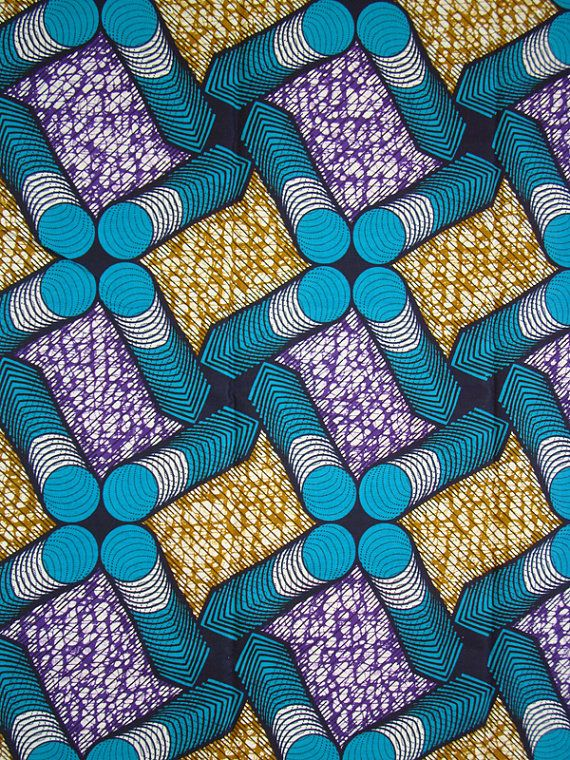 3 Yards Wax Print Fabric Cotton Fabric For African Print