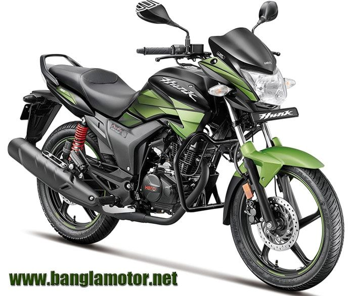 Hero Hunk Is The Older Fashionable And Popular Bikes In Bangladesh