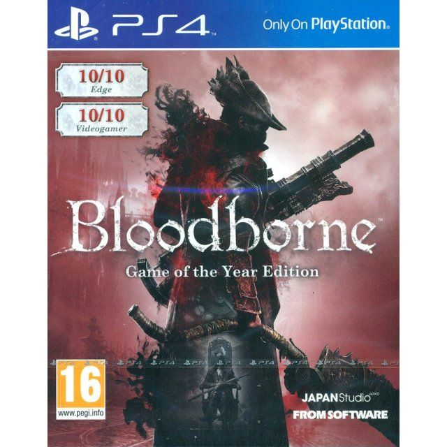 Bloodborne Game Of The Year Edition Ps4 Game Bloodborne