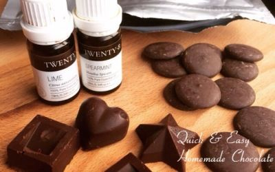Quick and easy homemade chocolate recipe
