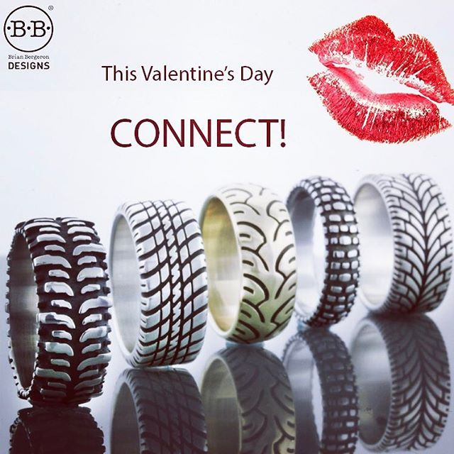 10% off Valentines Day sale Remember what you gave or received last Valentine's Day? No?Want to remember what you gave or received come next year? Jewelry has always made a great gift especially when it helps connect them to you. Official Tire Rings®...