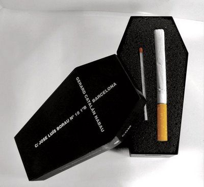 The last cigarette..someone must really want this one: Cigarette Packaging, Design Inspiration, Idea, Package Design, Product Design, Clever Packaging, Google Search, Creative Packaging