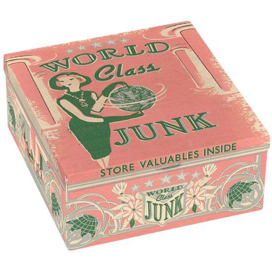 Kitsch.fi - Sikarilaatikko pieni, World Class Junk 17,90,-