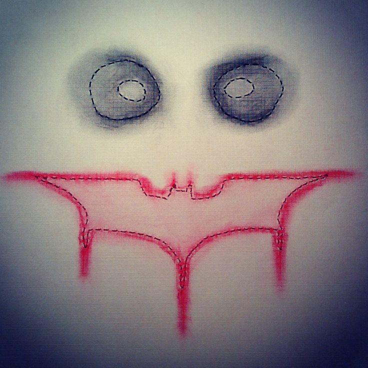 Joker Stitched Art by JSA. #JaimiesStitchedArt