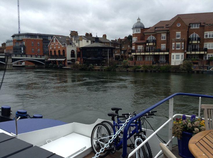 European Waterways - MagnaCarta, Includes bikes for when ashore