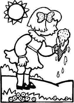august coloring pages for kids - photo#6