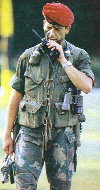 Argentine 601 Commando Company, 1982 Falklands War.