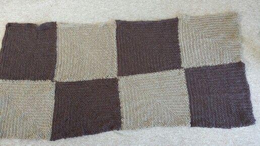 Piecera tejida a telar