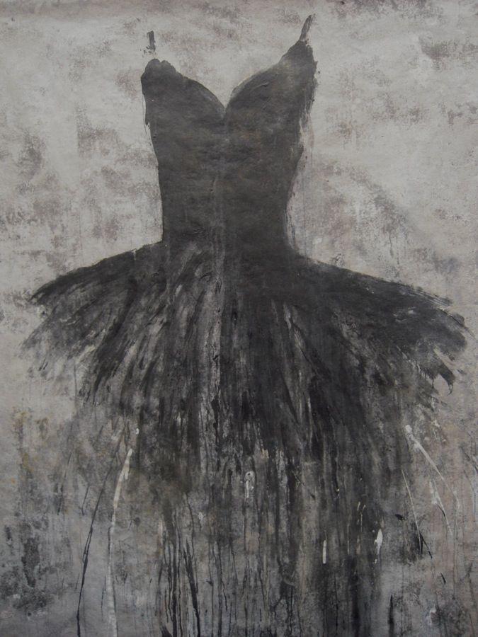 : Rose Gardens, Art Inspiration, Black Swan, Ballet Costumes, Little Black Dresses, Black Tutu, Vintage Rose, Grey Art Paintings, Art Projects
