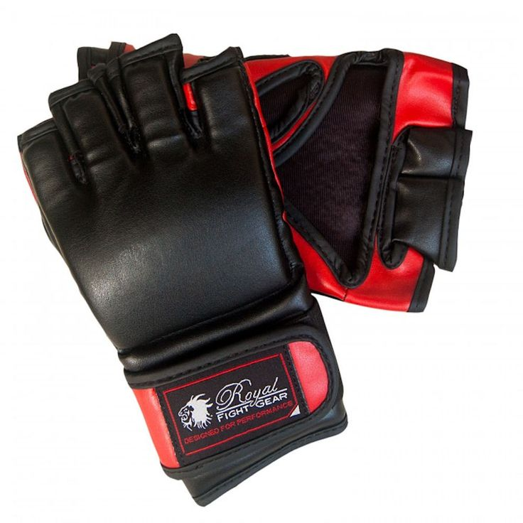 Royal Fight Gear THUMBLESS MMA ARTIFICIAL LEATHER GLOVES. • Royal Fight Gear MMA gloves• Ideal for training mixed martial arts• Made of artificial leather• Thumbless with open palm design• Nylon lining• Hook and Loop closure• Extra elastic wrist straps for a secure fit Ships in 3 to 5 Days