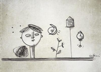 #Selfscape_02  Metafisica #illustration #FedericaTeti