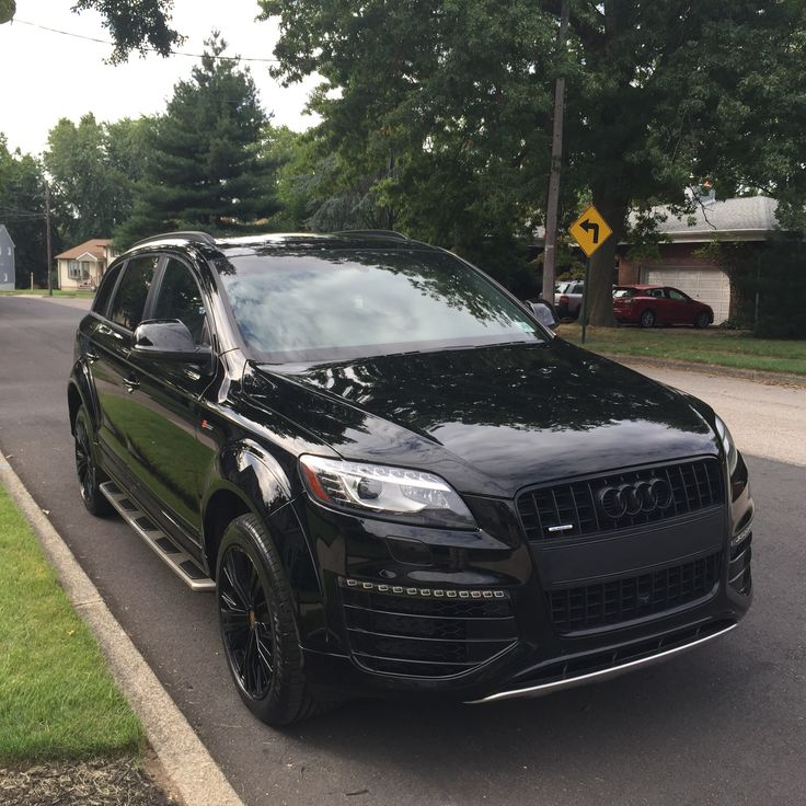 #Audi Q7 with sports pack.  Murdered out.