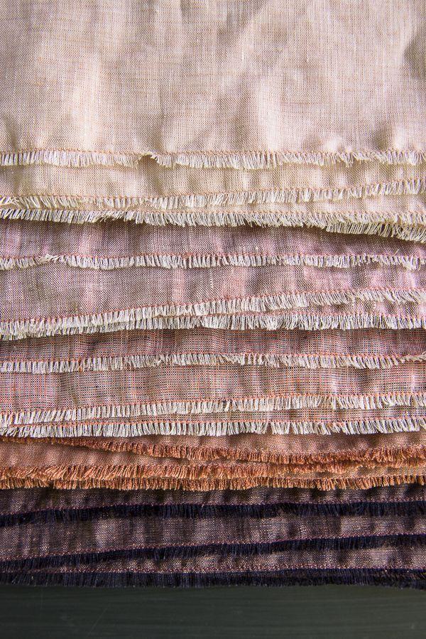 Watercolor Linen Wrap