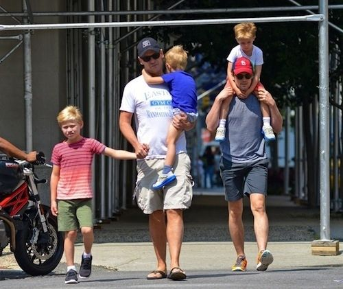 Matt Bomer and Simon Halls | The 10 Most Famous Gay Parents And Their Families