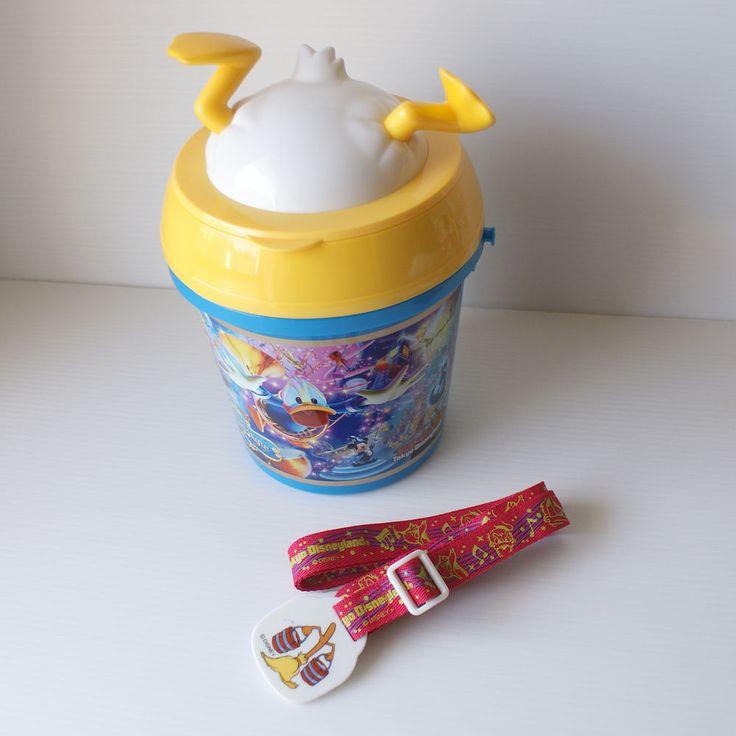 Donald Duck Philhar Magic - Popcorn Bucket Tokyo Disneyland Park Souvenirs