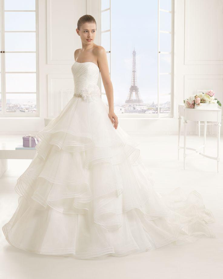 ESTEFANIA vestido de novia Rosa Clará Two