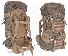 External vs Internal frame backpack - USMC ILBE pack