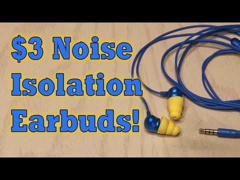 Listen to music without any background noise with these DIY noise-isolating earbuds that cost about $3! Support this video and get your FREE download at http...