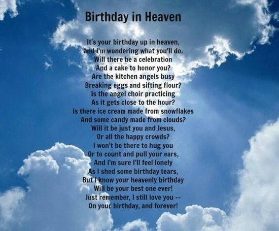 Happy B-Day Brother In Heaven